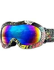 giohos niño Esquí Snowboard Gafas, marco modo 100% UV400protección gafas de nieve para niños