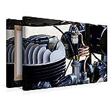 Premium Textil-Leinwand 45 cm x 30 cm quer, Ein Motiv aus dem Kalender Zündapp DB 200 eine Legende | Wandbild, Bild auf Keilrahmen, Fertigbild auf echter Leinwand, Leinwanddruck (CALVENDO Hobbys)