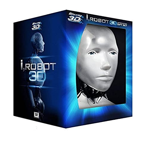 I, Robot (BOX) [2DVD][Blu-Ray 3D] [Region Free] (English audio. English subtitles) by Will Smith
