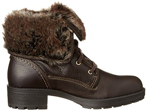Clarks Reunite Up Gtx, Boots femme Marron (Dark Brown Lea)