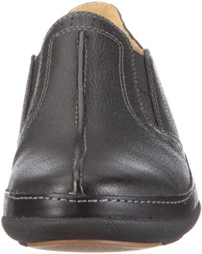 Clarks Un Bridget 203472704, Chaussures basses femme Noir (Black Leather)