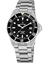 Grovana Men's Analogue Automatic Watch with Stainless Steel Bracelet – 15,712,137