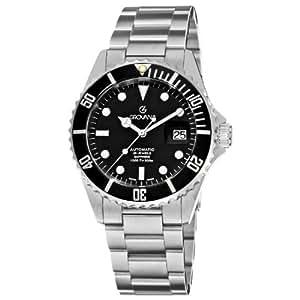 Grovana - 15 712 137 - Montre Homme - Automatique - Analogique - Bracelet Acier Inoxydable Argent