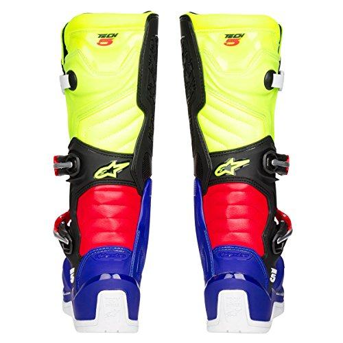 Alpinestars Motocross-Stiefel Tech 5 Blau Gr. 43 - 3