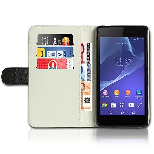 Wallet Book Style Flip Handy Tasche Case Schutz Hülle Schale Motiv Etui für Apple iPhone 6 / 6S - Flip UMH14 Design12 Design 6