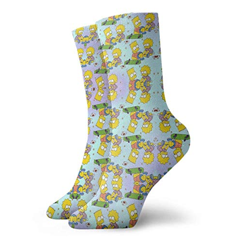 NR Calcetines deportivos hombre mujer The Simpsons