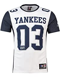 Amazon.it  majestic yankees  Abbigliamento 5e91ad6ccdeb