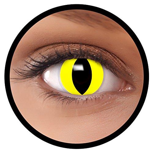 (FXEYEZ Farbige Kontaktlinsen gelb
