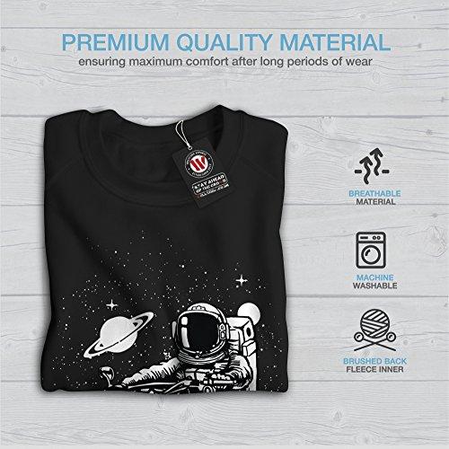 Il Est d'accord Femme S-2XL Sweat-shirt | Wellcoda Noir