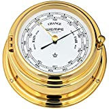 Wempe Barometer Bremen II Messing Ø 150 mm