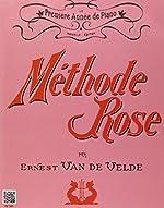 Méthode Rose 1ère année (version traditionnelle) de Ernest Van de Velde