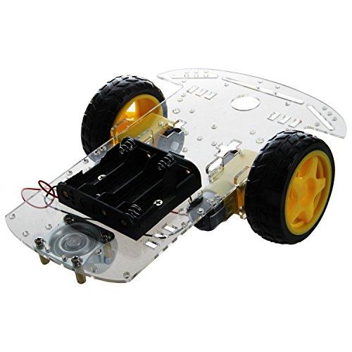 Automotive Gehaeuse Set - TOOGOO(R)Neu 2WD Smart Motor Roboter Auto Fahrgestelle Batterie Box Set Drehzahlgeber fuer Arduino