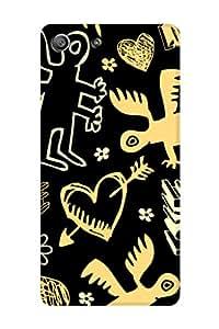 ZAPCASE Printed Back Cover for Sony Xperia M5