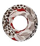 Majea super weicher Damen Loop Schal viele Farben Muster Schlauchschal