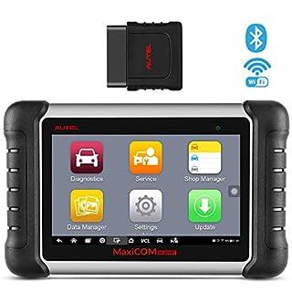 Autel MaxiCOM® MK808BT OBD2 Diagnosegerät Auto Bluetooth Scanner mit Alles System & Service Inkl. ABS Bremsblutung, TPMS, Ölrückstellung, EPB, SAS, BMS, DPF, IMMO > MK808