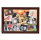 #7: AR Personalized Photo Frames Wall Collage ( Brown, 12 x 18 ) : A-105BP