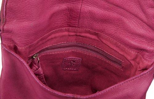 Black Lily  bubble bag,  Borsa a tracolla donna Rosa (Pink (fuchsia))