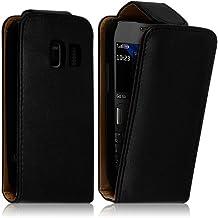 Seluxion - Housse Coque Etui à Rabat Pour Nokia Asha 302 Couleur Noir