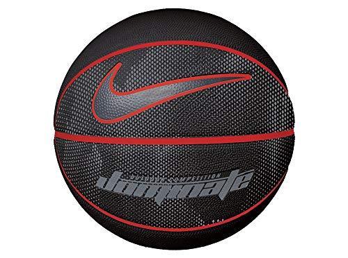 Nike Erwachsene Dominate 8P Basketball, Black/University red/Cool Grey, 7 -