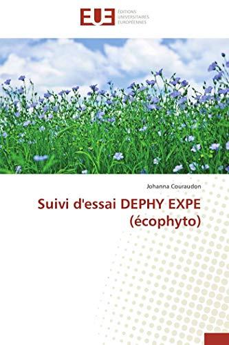 Suivi d'essai dephy expe (écophyto)