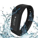 ELEGIANT D6 PLUS Smartwatch Montre Bracelet étanche Bluetooth 4.0 Sports / healthy Wristband Time/Caller ID/alarm/Pedometer Sleep Monitor intelligent IP67 Etanche Profondeur pour HTC Samsung LG Sony Android téléphones