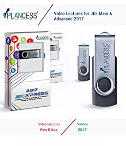 Plancess JEE Main and Advanced PCM Video Lectures + Study Material by Qualified JEE Professionals and IITians (USB) - 2017