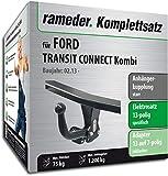 Rameder Komplettsatz, Anhängerkupplung starr + 13pol Elektrik für Ford Transit Connect Kombi (122105-11619-3)