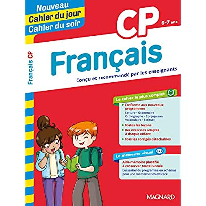 Cahier du jour/Cahier du soir Français CP