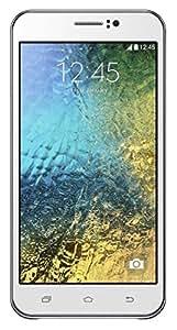 "Whitecherry MILotus 5"" Android Lolipop 5.1 Dual Core 3G Dual SIM Smart Phone (White)"