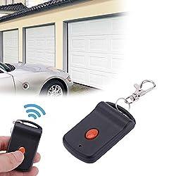 Universal Garage Gate Remote Control, Portable 1 Button Garage Door Wireless Remote Control Transmitter Gate Opener.