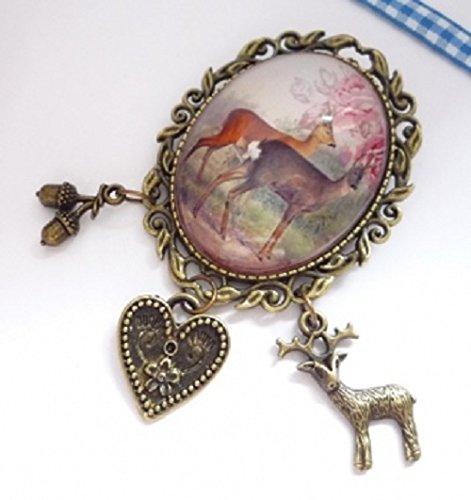 ovale-sehr-dekorative-trachtenbrosche-rehe-antik-bronzefarben