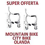 2-x-COPPIE-Freno-V-Brake-per-BICICLETTA-Mountain-Bike-City-Bike-Olanda-Graziella-Bimbo