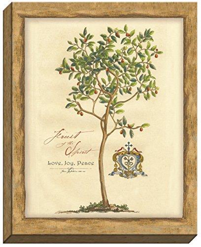 carpentree Fruit of the Spirit Leinwand Wand Art, 40,6x 50,8cm (Christian-wand-dekor)