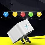 Ludage WiFi-Smart-Buchse Alexa Intelligente Sprachsteuerung US-Standard-Timing-Control-Buchse