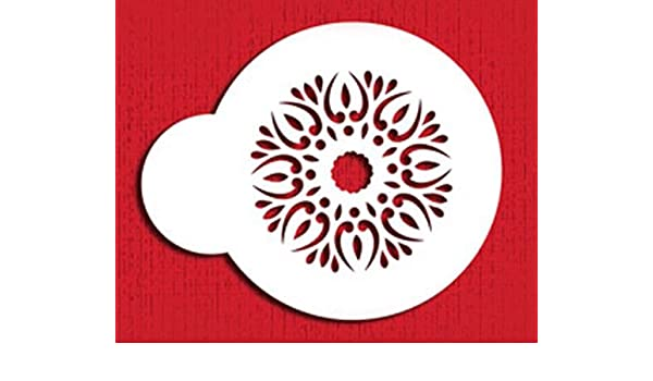 Mehndi Cookies Cake Cupcake Stencils Flexible Craft Stencils 2 Piece Set