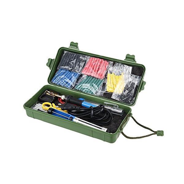 Kit del Soldador, moonlux Soldador Electrónica de Estaño 60W 220V, Soporte,