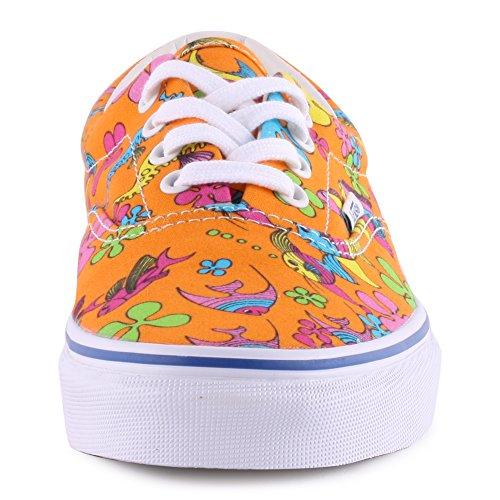 Vans - Sneaker,Unisex - adulto (van doren) orange/sea cr