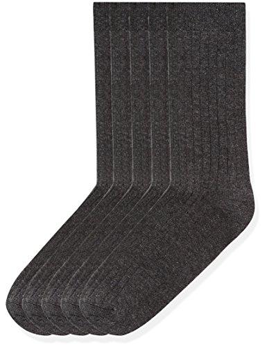 RED WAGON Jungen Socken 5er Pack, Grau, 30.5-35.5 Preisvergleich