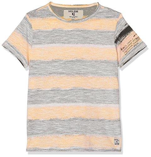 Garcia Kids Jungen T-Shirt P83607, Mehrfarbig (Neon Carrot 2644), 152 (Herstellergröße: 152/158)