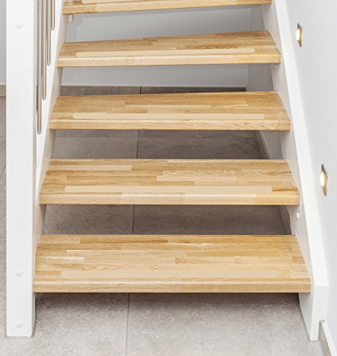 Kara Anti-Slip Strips for Stairs approximately 60 cm x 3 cm Set of 15