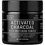 Activated Charcoal Natural Teeth Whitening Powder by Pro Teeth Whitening Co® | Manufactured in the UK