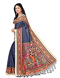 Blissta Blue Women's Latest Designer Party Wear New Saree With Blouse Piece