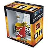 ABYstyle - One Piece Pack Verre 29cl + Shooter + Mini Mug Skull Luffy - version allemande