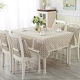 Europäische modernen minimalistischen pastoralen Tuch Tischdecken Cotton TV-Schrank Hotel Runden Tisch rechteckigen Tischdecke Mahjong Tischdecken Couchtisch-I 145x200cm(57x79inch)