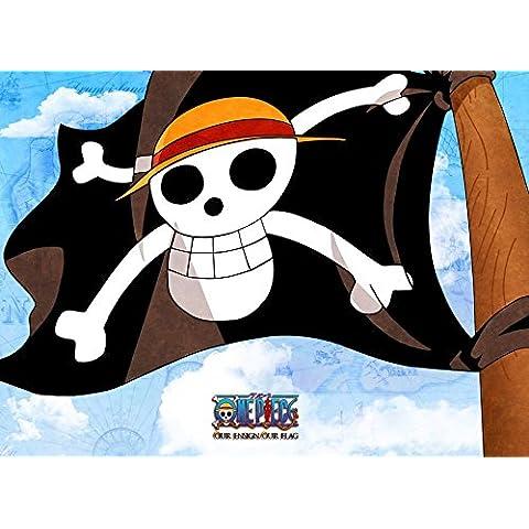 One Piece 3D2Y Ace no Shi wo Koete! Luffy Nakama Tono Chikai (33x24 inch, 82x60 cm) Silk Poster Seda Cartel PJ1C-8B39