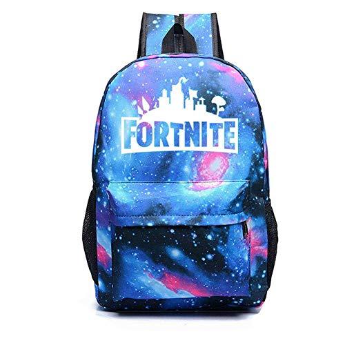 Luminoso Zaino scolastico, Borsa a tracolla donna Uomini, Zaino versatile per ragazze Ragazzi, Un sacco di borsa di stoccaggio adatta a scuola, viaggi, all'aperto (Starry Blue)