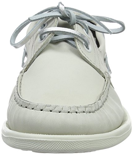 Daniel Hechter Hj05021, Chaussures Bateau Femme Blanc (blanc cassé)