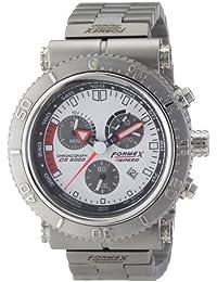 Formex 4 Speed 20002.3111 - Reloj cronógrafo de cuarzo para hombre con correa de acero inoxidable, color plateado