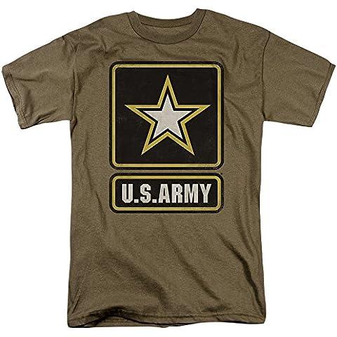 Army-Maglietta da uomo con Logo