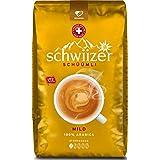 Schwiizer Mild Ganze Kaffeebohnen 1kg, 1er Pack (1 x 1000 g)